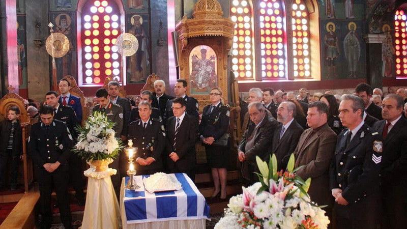Αλεξανδρούπολη: Μνημόσυνο στη μνήμη των πεσόντων εν ώρα υπηρεσίας Αστυνομικών
