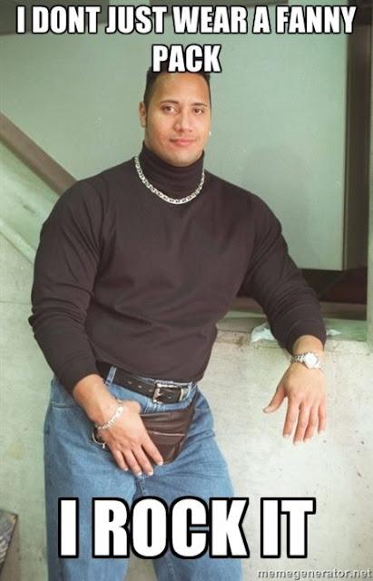 The Rock recrea su clásica foto de los 90