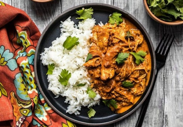 Slow Cooker Chicken Tikka Masala #dinner #slowcooker