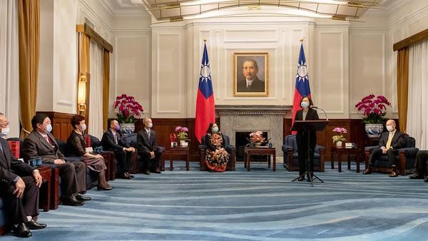 監所教化更生保護人士 蔡英文在總統府接見表揚