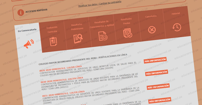 MINEDU: Convocatoria CAS OCTUBRE 2020 - Cerca de 200 Puestos de Trabajo en el Ministerio de Educación [INSCRIPCIÓN DE POSTULANTES HASTA EL 6 DE OCTUBRE] www.minedu.gob.pe