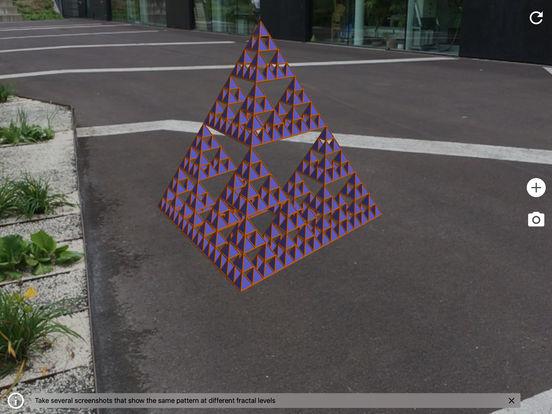 Fractal Sierpinski's Triangle