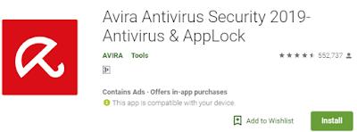 Antivirus Terbaik Dan Gratis Di Andorid