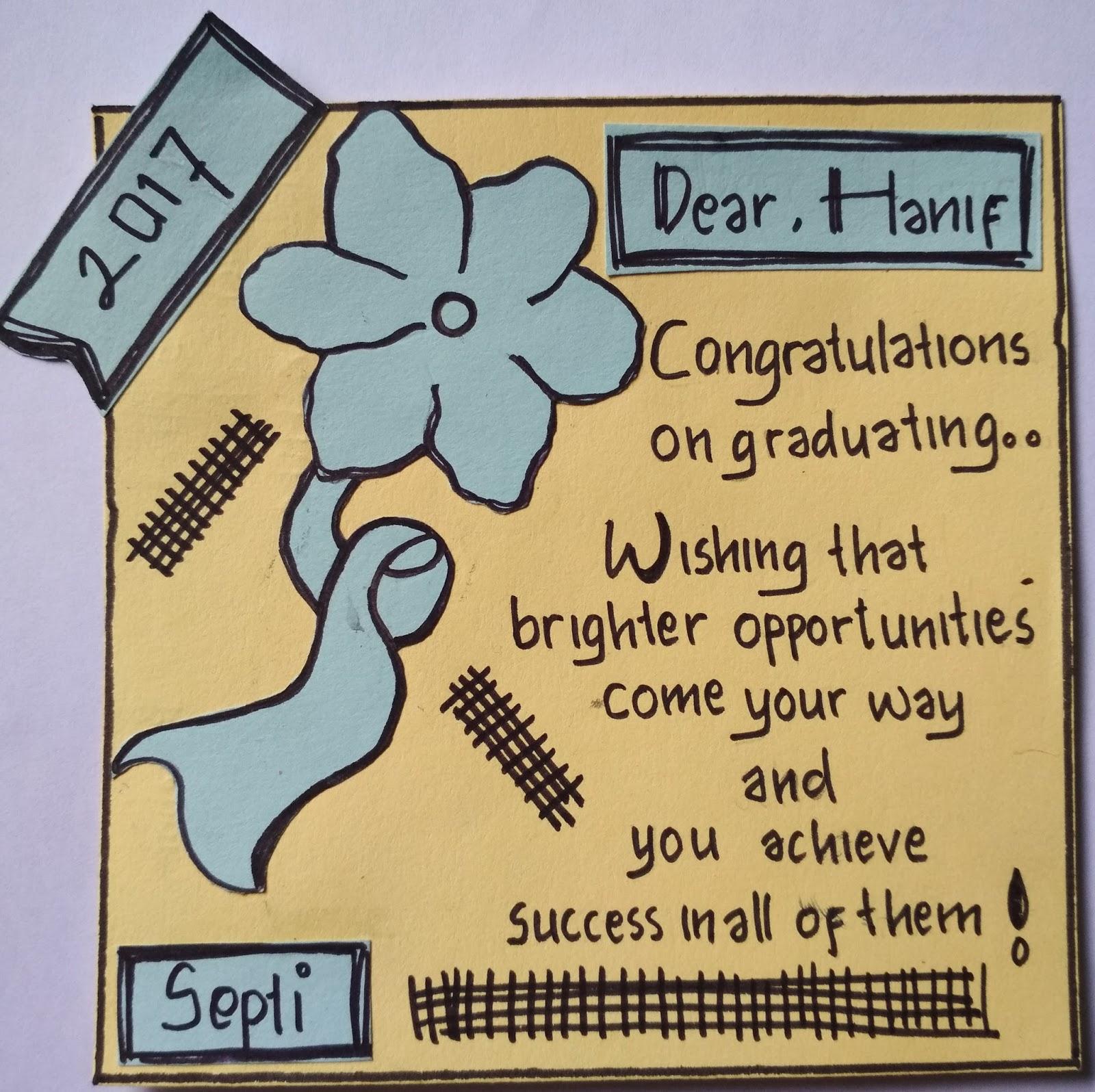 8 Contoh Congratulation Card Kartu Ucapan Selamat Dalam Bahasa