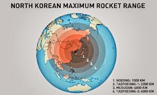 S. Korean spy agency puts DPRK's new ballistic missile range at over 2,000 km