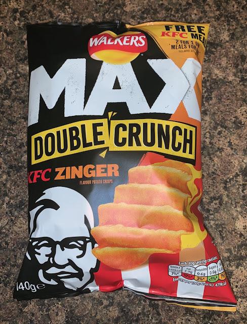 Walkers Max - KFC Zinger - Double Crunch