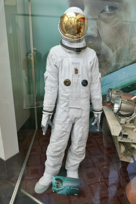 Brad Pitt Ad Astra spacesuit