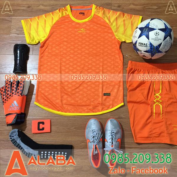 Áo không Logo LIN màu cam