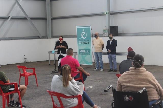 Plan de Empleo 2020 del Cabildo de Fuerteventura  incorpora a 44 desempleados que acometerán trabajos en centros educativos y otros espacios públicos