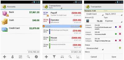Aplikasi Pengelola Keuangan Pribadi di Android 8