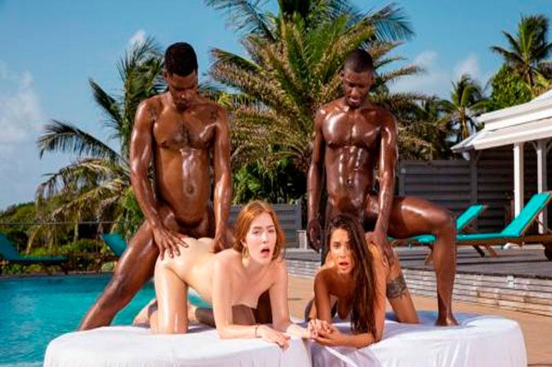 Blacked – Jia Lissa, Liya Silver: Together