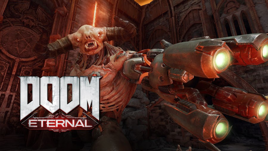 doom eternal 1000 fps frames per second 4K demon slaying id software bethesda softworks first-person shooter game id tech 7 ps4 pro xbox one x next-generation playstation 5 xbox series x