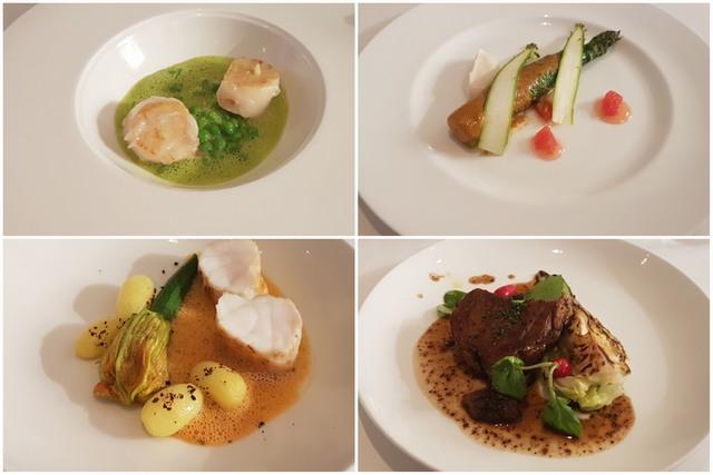 Bonhams Restaurant en Londres - Platos