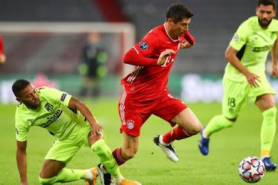 ملخص واهداف مباراة بايرن ميونخ واتلتيكو مدريد (4-0) دوري ابطال اوروبا