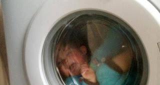 Ibu Kandung Blender Bayinya Umur Sehari Pakai Mesin Cuci
