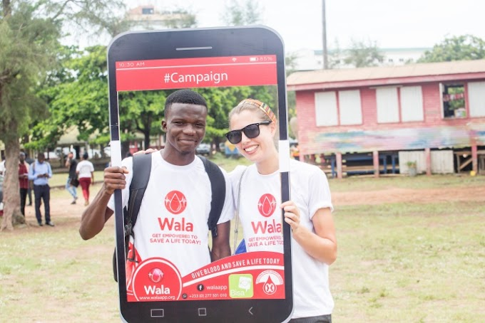 WALA app launched drive voluntary blood donations in Ghana