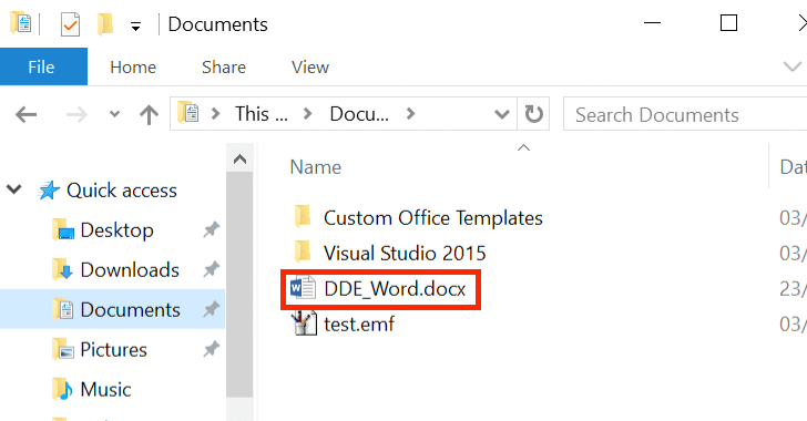 MS Office Built-in Feature Allows Malware Execution Without Macros Enabled