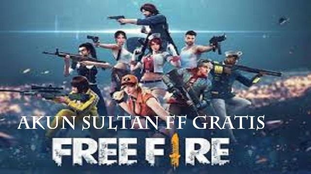Akun Sultan FF Gratis