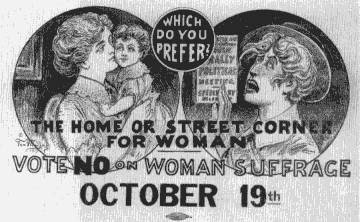 Vote No on Women's Suffrage
