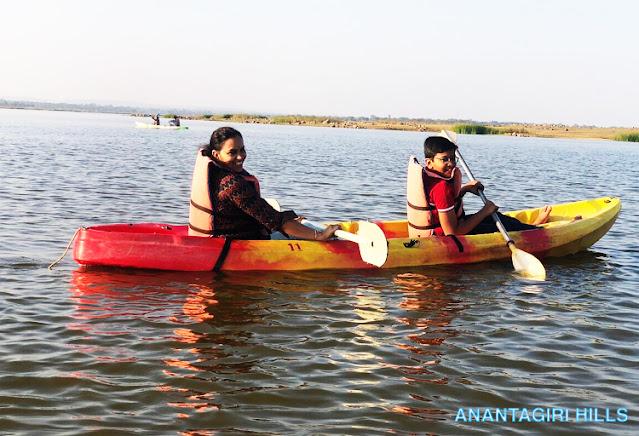Kayaking - Kondapally Reservior