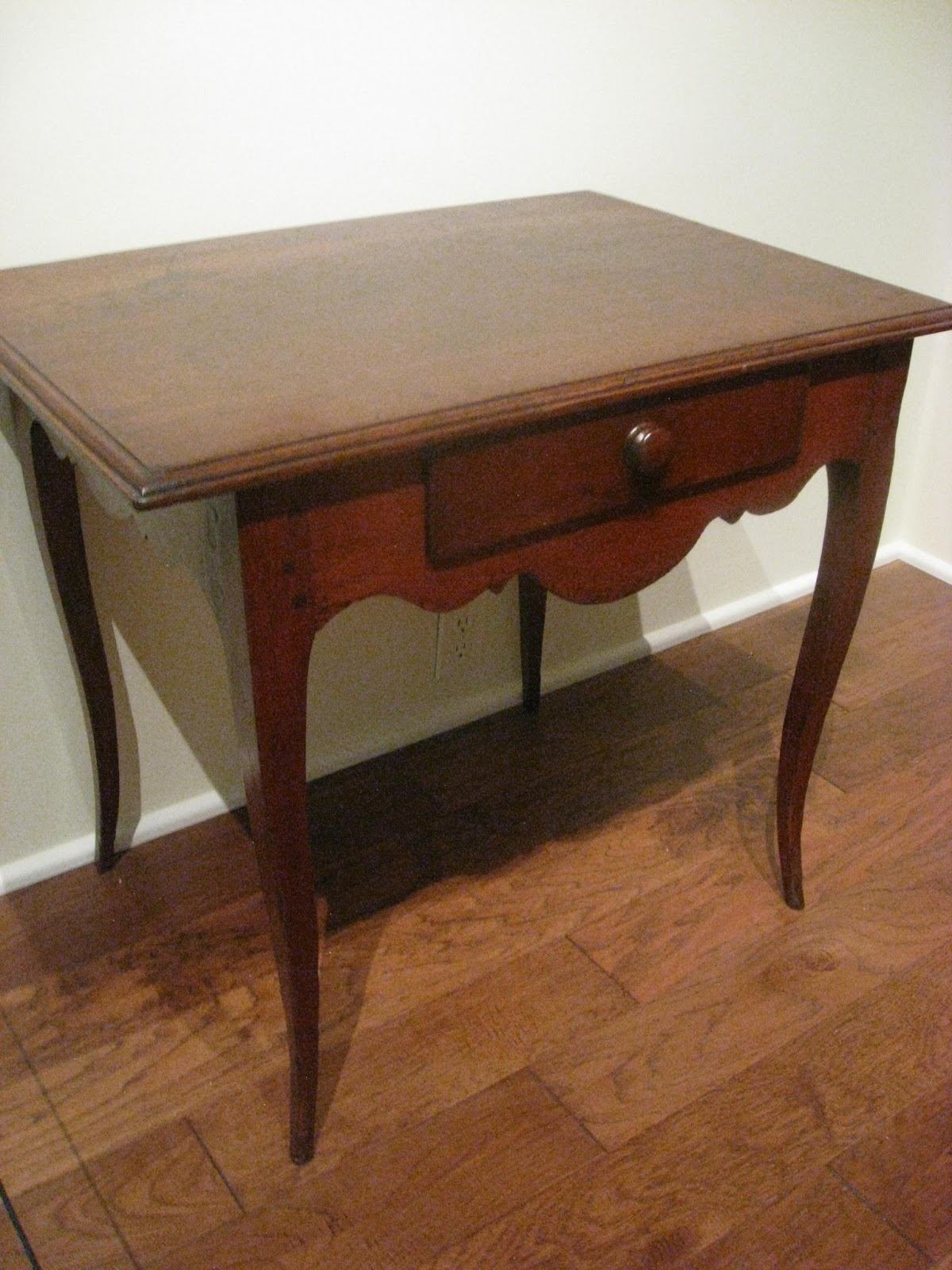 A Louis XV Side Table Made Around New Orleans Is Made Of Cherry And Cypress  As Secondary Wood, Circa 1770 1810. This Type Of Delicate One Drawer Table  Are ...