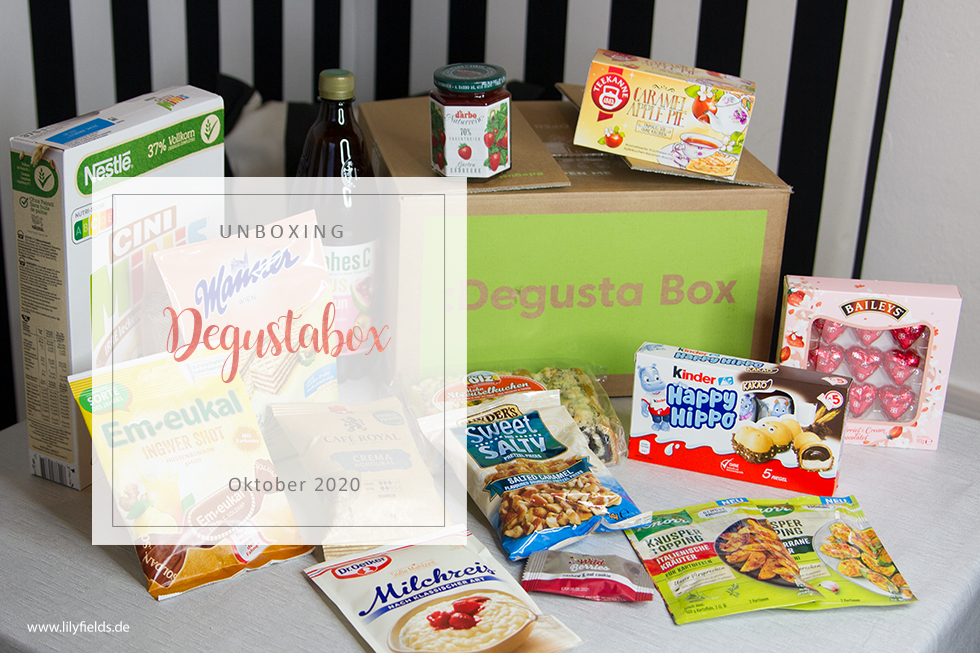 Degusta Box  - Oktober 2020 - unboxing