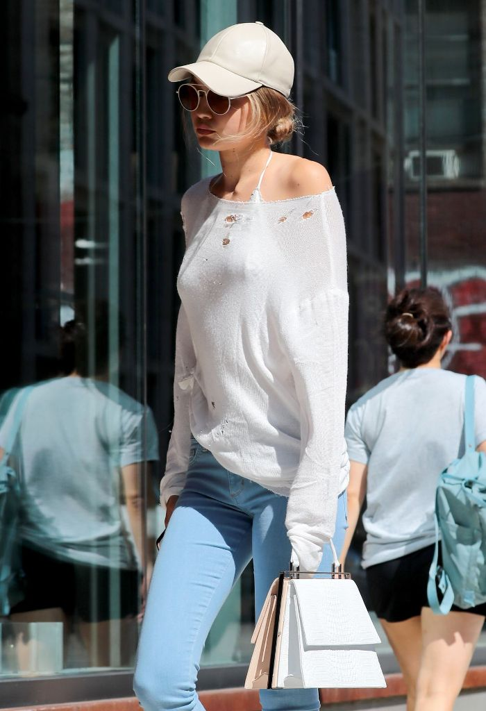 Gigi Hadid Street Style in New York City