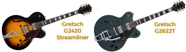 Gretsch G2420 Vs G2622T