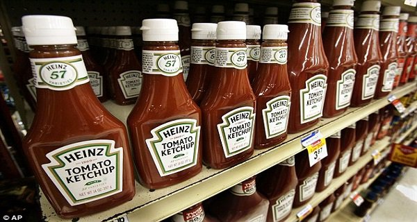 Avoid Consuming Heinz ketchup
