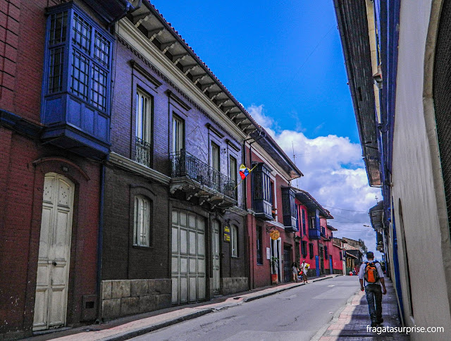 Casarões do bairro de La Candelaria, Bogotá