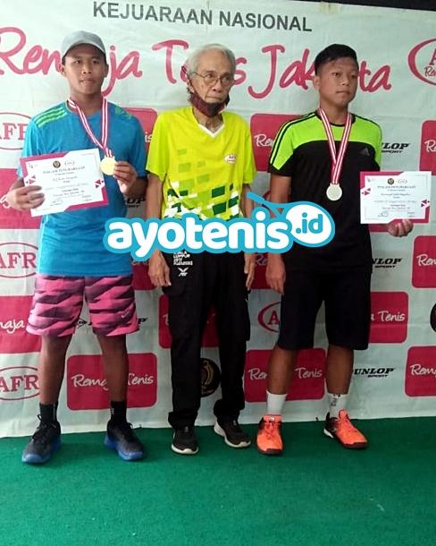 Petenis Tegal Borong Dua Gelar RemajaTenis Jakarta-94, Juara KU Lainnya Terdistribusi Rata