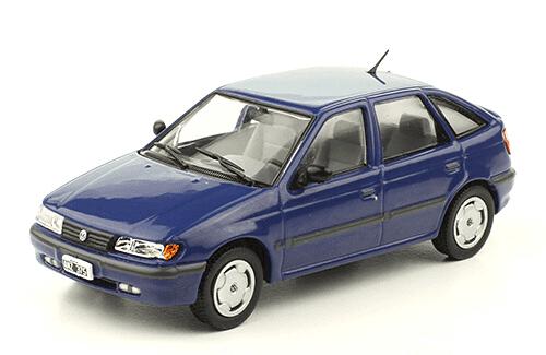 Volkswagen Pointer GLI 1994 1:43, autos inolvidables argentinos 80 90