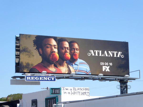 Atlanta series premiere billboard