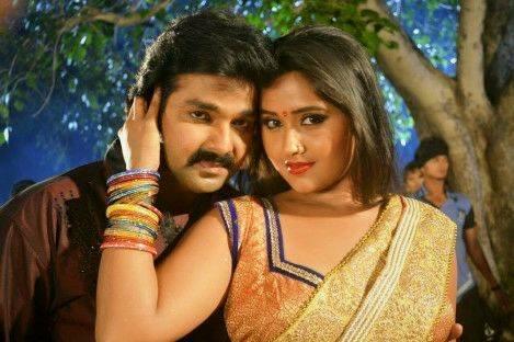 Kajal Raghawani with pawan singh