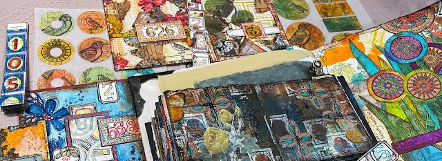 Gwen Lafleur - July 2021 Stamp Release Samples Banner