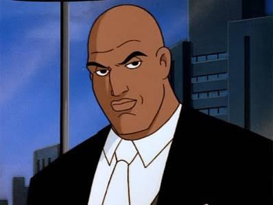 Lex Luthor fue negro en la serie animada