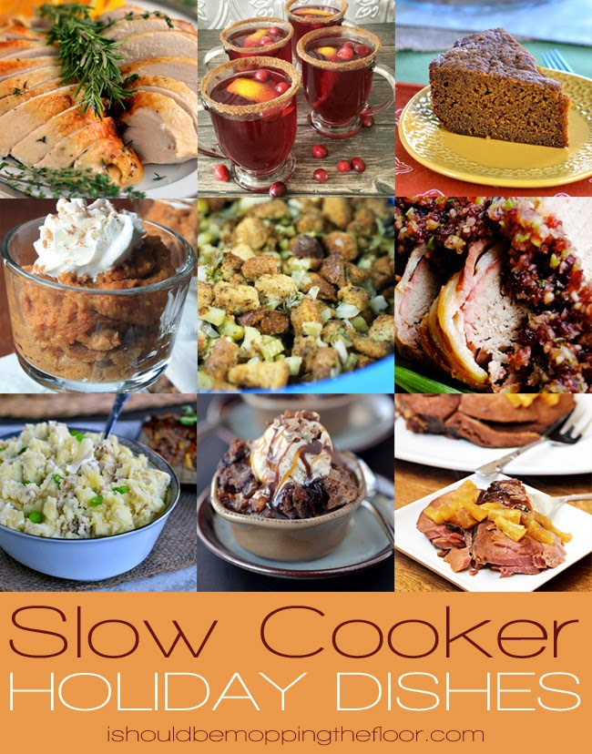 Slow Cooker Holiday Dishes are the perfect way to free up your oven and do some hands-off cooking for all of your festive dinners