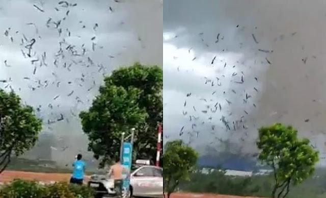 Lốc xoáy kinh hoàng ở Vĩnh Phúc làm 3 người chết, 18 người bị thương