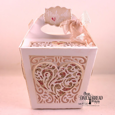 Our Daily Bread Designs Stamp Set: Let Love Grow, Our Daily Bread Designs Custom Dies:Glorious Gable Box, Heavenly Hearts, Layering Hearts, Mini Label, Our Daily Bread Designs Paper Collection: Blushing Rose