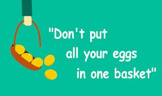 """Apa Maksud dari Pepatah """"Jangan Taruh Telur di Satu Keranjang"""" di Dunia Trading CryptoCurrency?"""