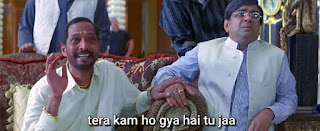 Tera kaam hogya hai tu jaa, Nana Patekar as Uday Shetty | best welcome movie meme templates & dialogue