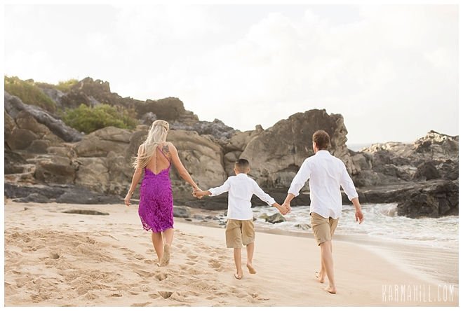 Maui Beach Engagement Portraits