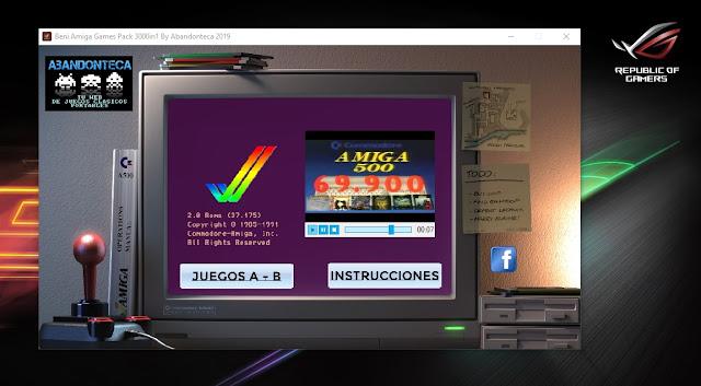 Beni Amiga Games Packs 3000in1