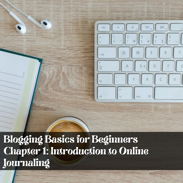 Blogging Basics for Beginners  - Chapter 1: Introduction to Online Journaling