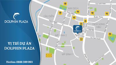 vị trí đắc địa dự án  Dolphin Plaza
