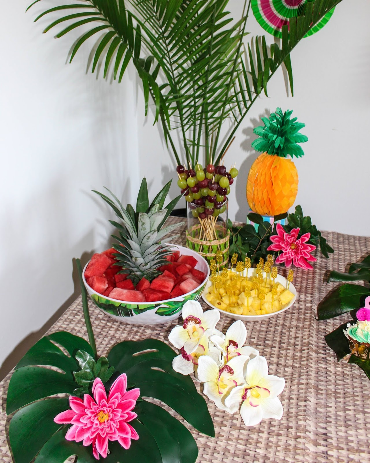 Tropical Theme Party on a Budget