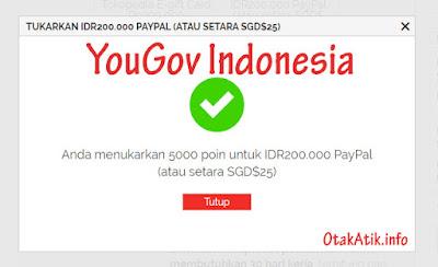 YouGov, Survey Online Indonesia Dibayar Dollar Singapura  Cara Main Survey Yougov Dibayar 25 SGD
