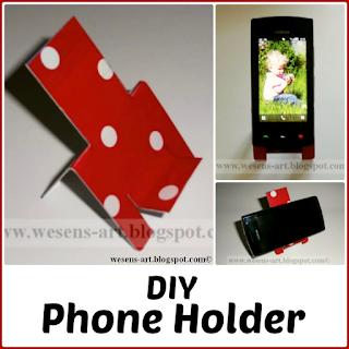PhoneHolder wesens-art.blogspot.com