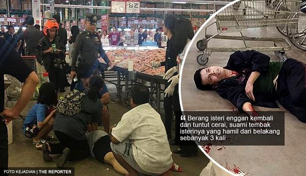 Kantoi curang, suami tembak isteri hamil 3 kali selepas mangsa enggan kembali ke pangkuannya
