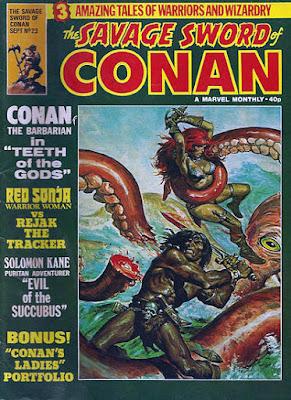 Savage Sword of Conan #23, Red Sonja
